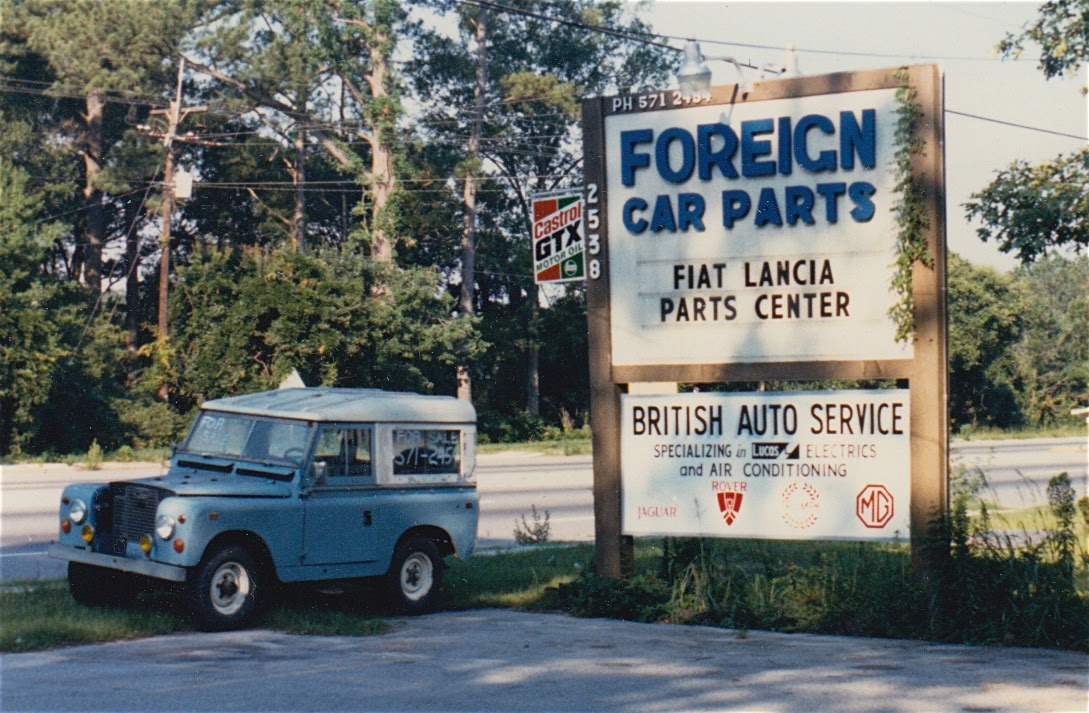 1970 Land Rover from about 1985